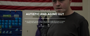 autistic and aging out