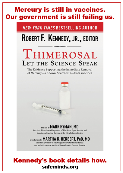 kennedy book thimerosal
