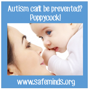 Autism can't be prevented?  Poppycock!